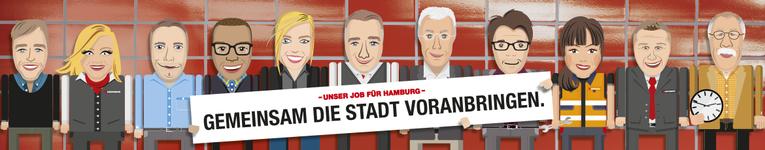 Busfahrer (m/w) in Vollzeit auf unserem Betriebshof Wandsbek