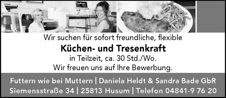 Küchen- und Tresenkraft