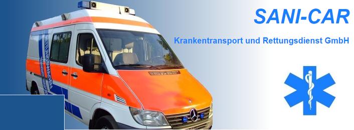 SANI-CAR Krankentransport und Rettungsdienst GmbH