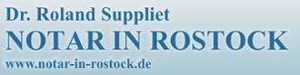 Dr. Roland Suppliet - Notar in Rostock