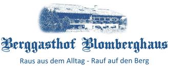 Berggasthof Blomberghaus