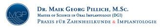 Zahnarzt Dr. Maik Georg Pillich, M.Sc.