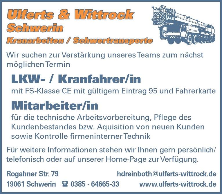 LKW- / Kranfahrer/in