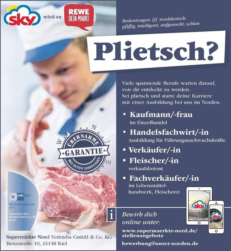 Ausbildung: Fleischer/-in