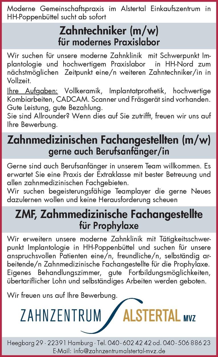 Zahmmedizinische Fachangestellte für Prophylaxe