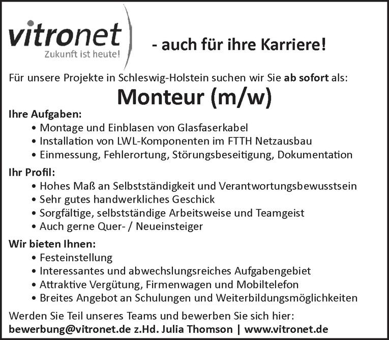 Monteur (m/w)