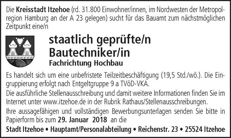 staatlich geprüfte/r Bautechniker/in