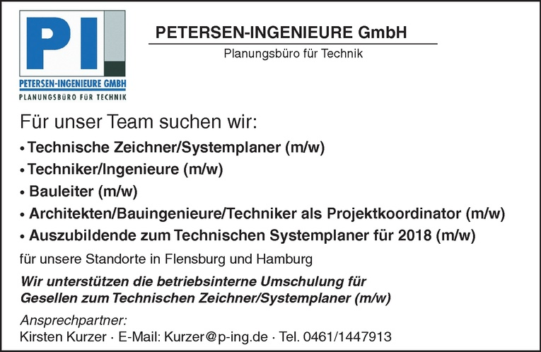 Technische Zeichner/Systemplaner (m/w)