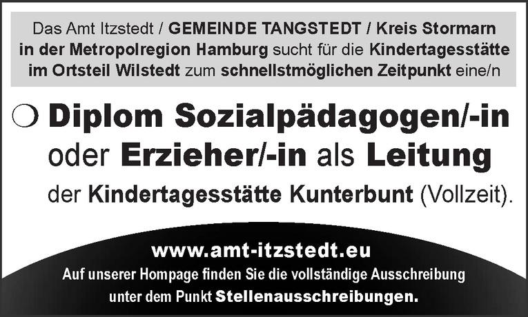 Diplom Sozialpädagogen/-in oder Erzieher/-in als Leitung