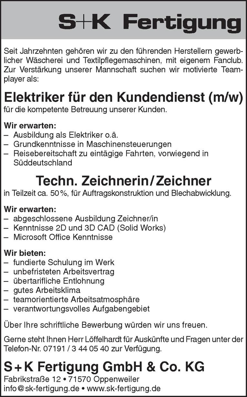 Job: Elektriker für den Kundendienst (m/w)