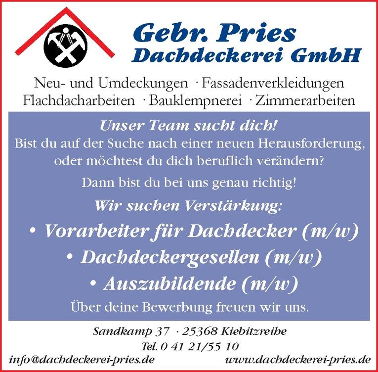 Vorarbeiter für Dachdecker (m/w)