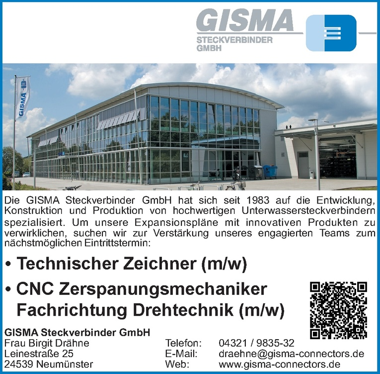 CNC Zerspanungsmechaniker (m/w)
