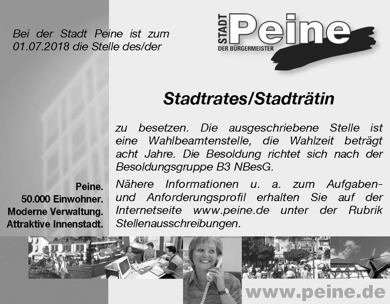 Stadtrates / Stadträtin