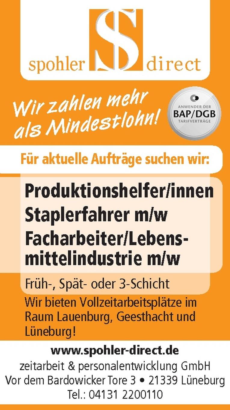 Produktionshelfer/innen
