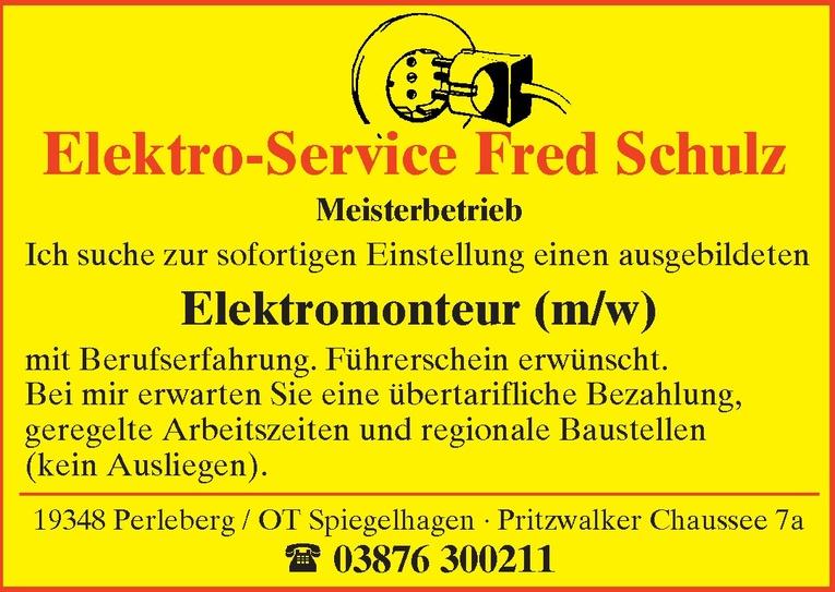Elektromonteur (m/w)
