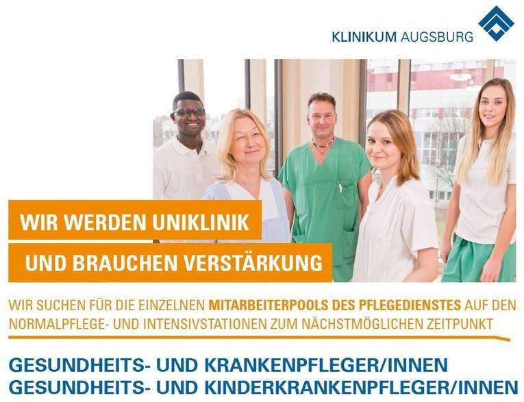 Gesundheits- und Krankenpfleger/innen und/oder Gesundheits- und Kinderkrankenpfleger/innen