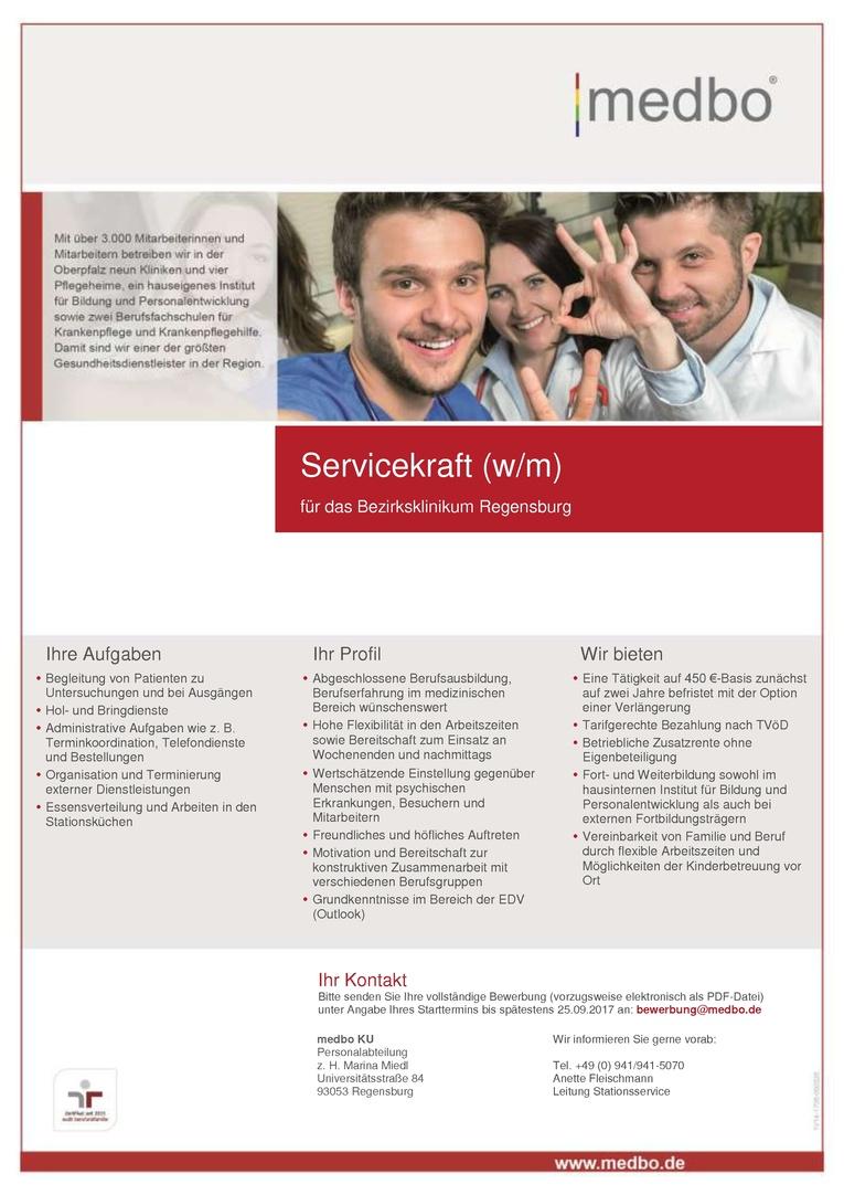 Servicekraft (w/m)