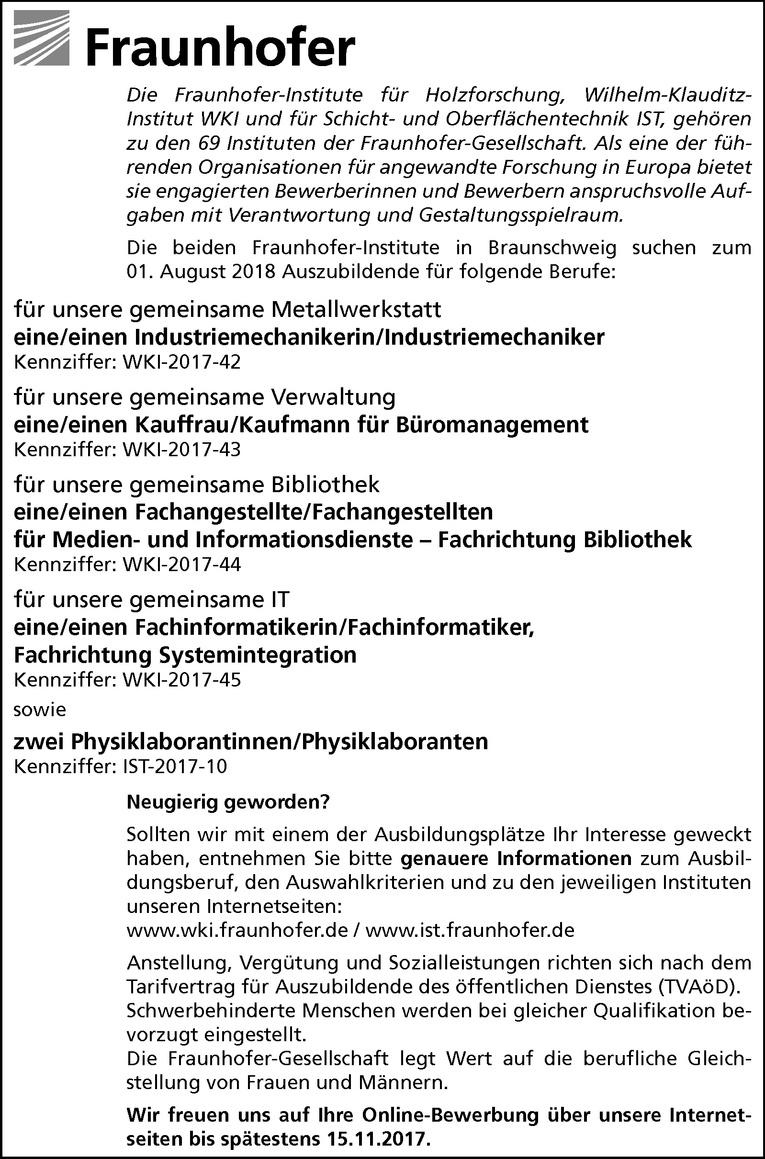 Ausbildung: Kauffrau/Kaufmann für Büromanagement