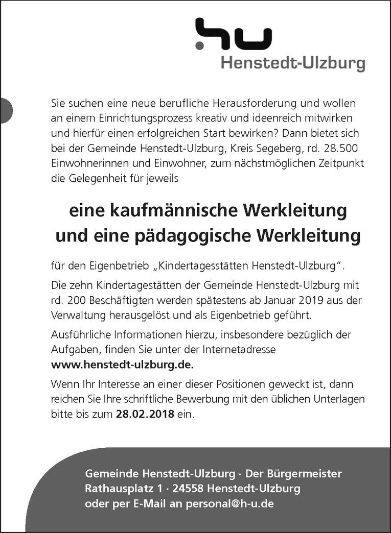 pädagogische Werkleitung (m/w)