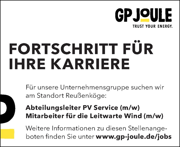 Mitarbeiter für die Leitwarte Wind (m/w)