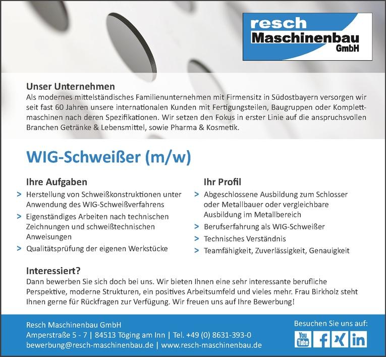 WIG-Schweißer (m/w)