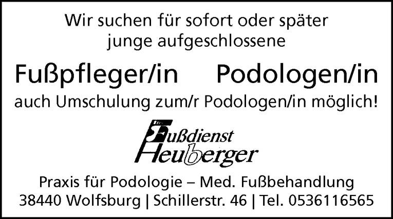 Fußpfleger/in