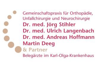 Gemeinschaftspraxis für Orthopädie, Unfallchirurgie und Neurochirurgie  Dres. Stihler-Langenbach-Hoffmann-Deeg & Partner