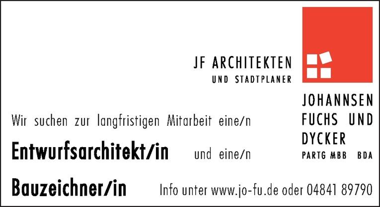 Entwurfsarchitekt/in