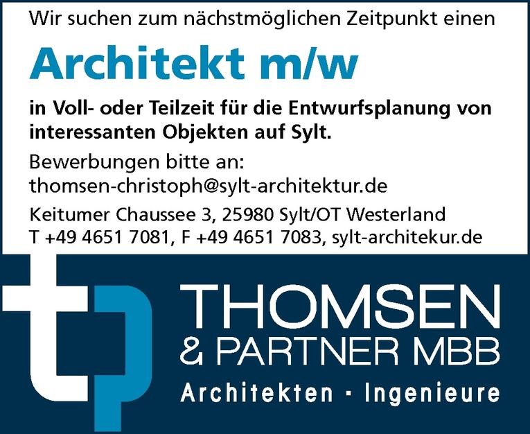 Architekt m/w