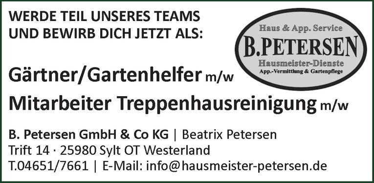 Mitarbeiter Treppenhausreinigung m/w