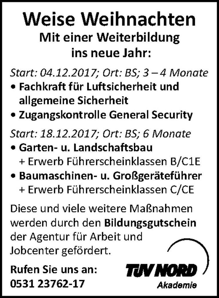 Ausbildung: ​Zugangskontrolle General Security (m/w)