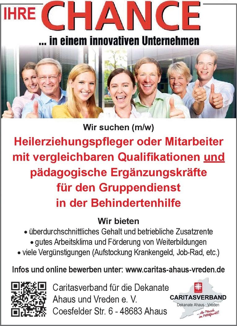 Heilerziehungspfleger (m/w)