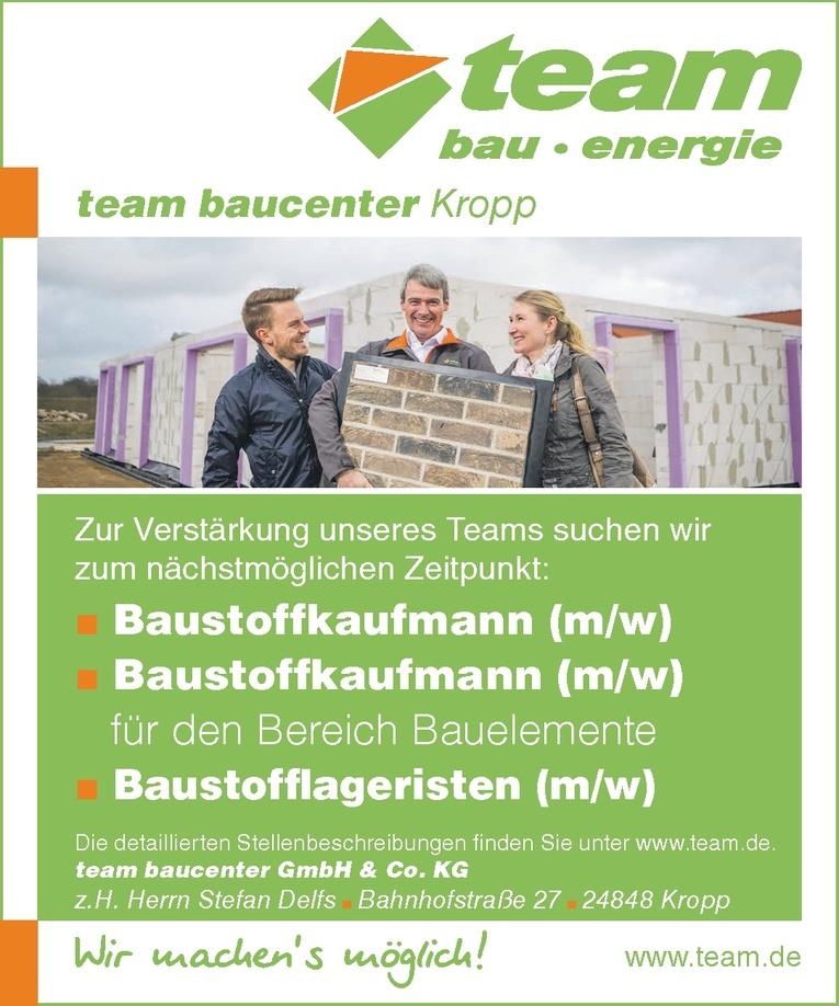 Baustoffkaufmann (m/w)