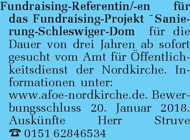 Fundraising-Referentin/-en