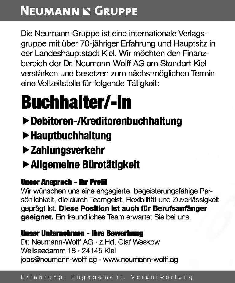 Buchhalter/-in