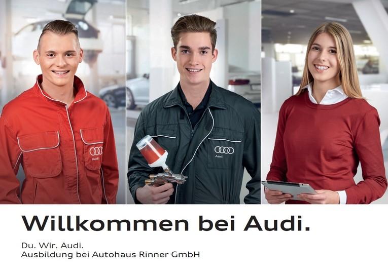 Ausbildungsplatz zum Kfz-Mechatroniker Pkw (m/w) ab 01.09.2018. Du. Wir. Audi.