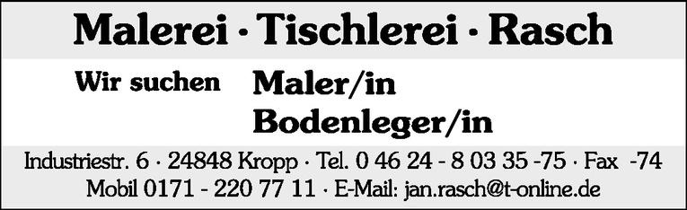 Maler/in