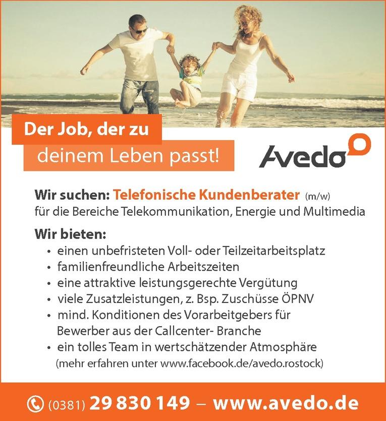 Telefonische Kundenberater (m/w)