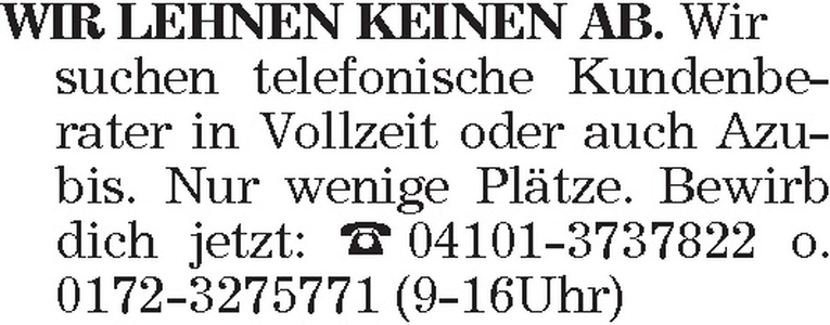 telefonische Kundenberater