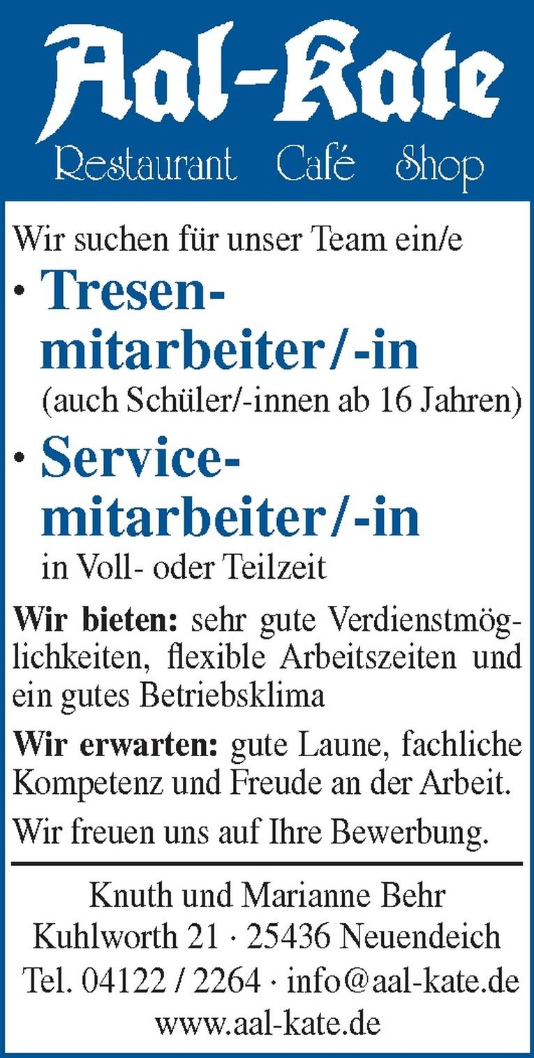 Service- mitarbeiter/in