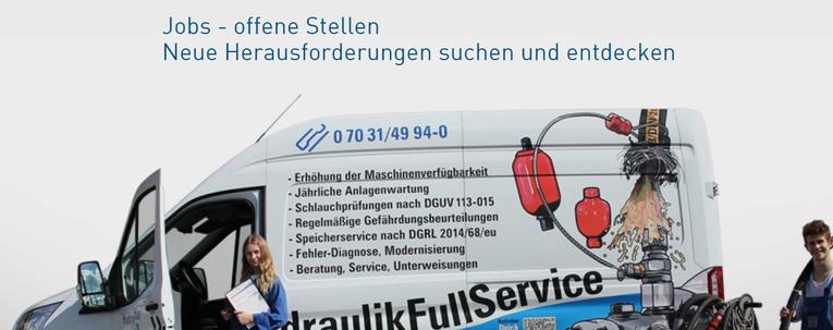 Hydraulik Servicetechniker (in)