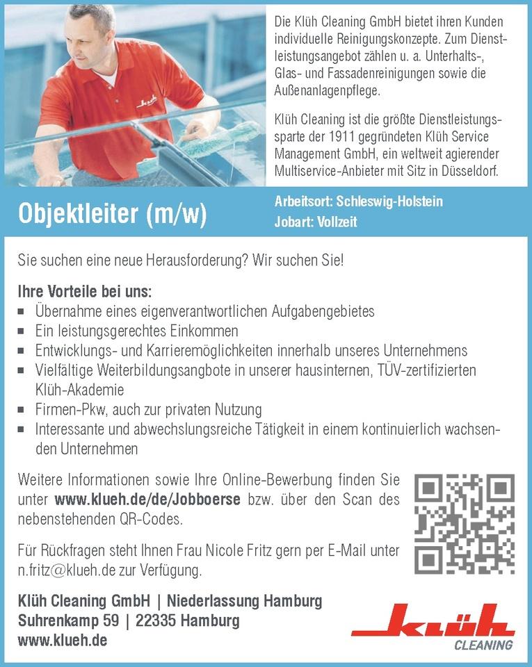 Objektleiter (m/w)