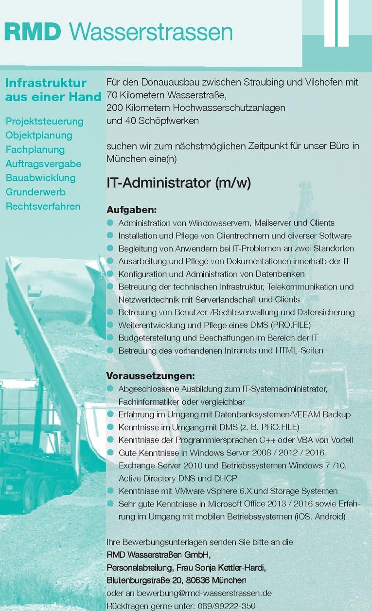IT-Administrator (m/w)
