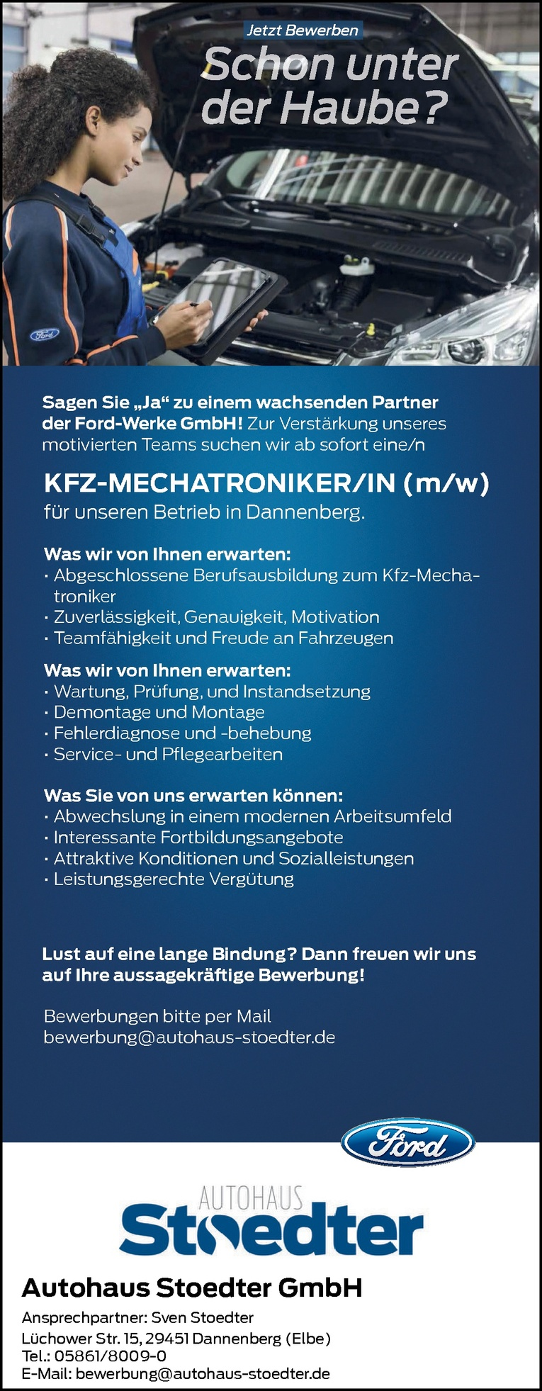 KFZ-MECHATRONIKER/IN (m/w)