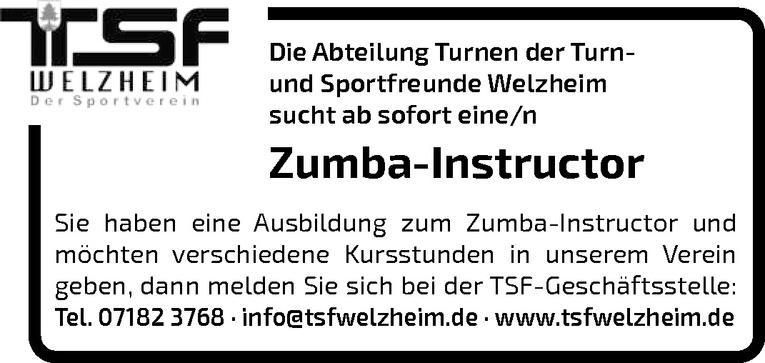 Zumba-Instructor m/w