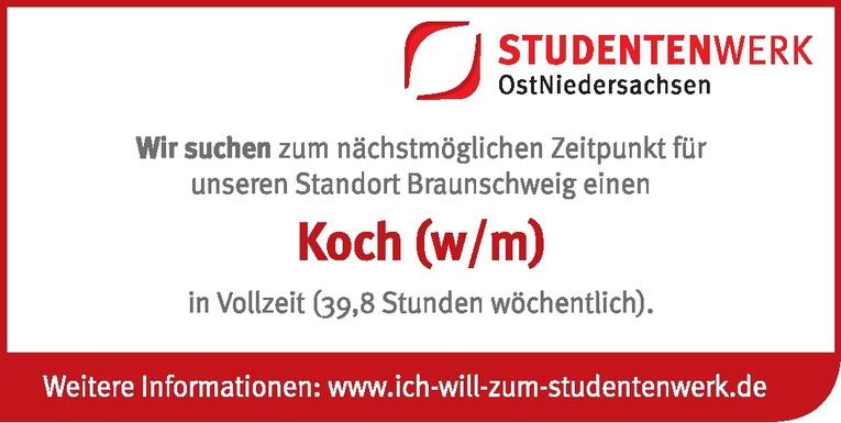 Koch (w/m)