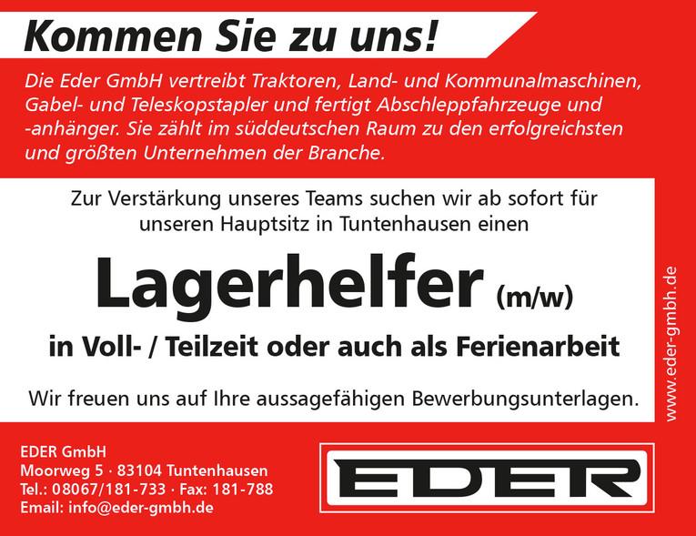 Lagerhelfer (m/w)