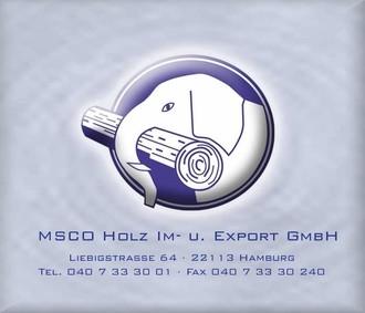 MSCO Holz Im- und Export GmbH