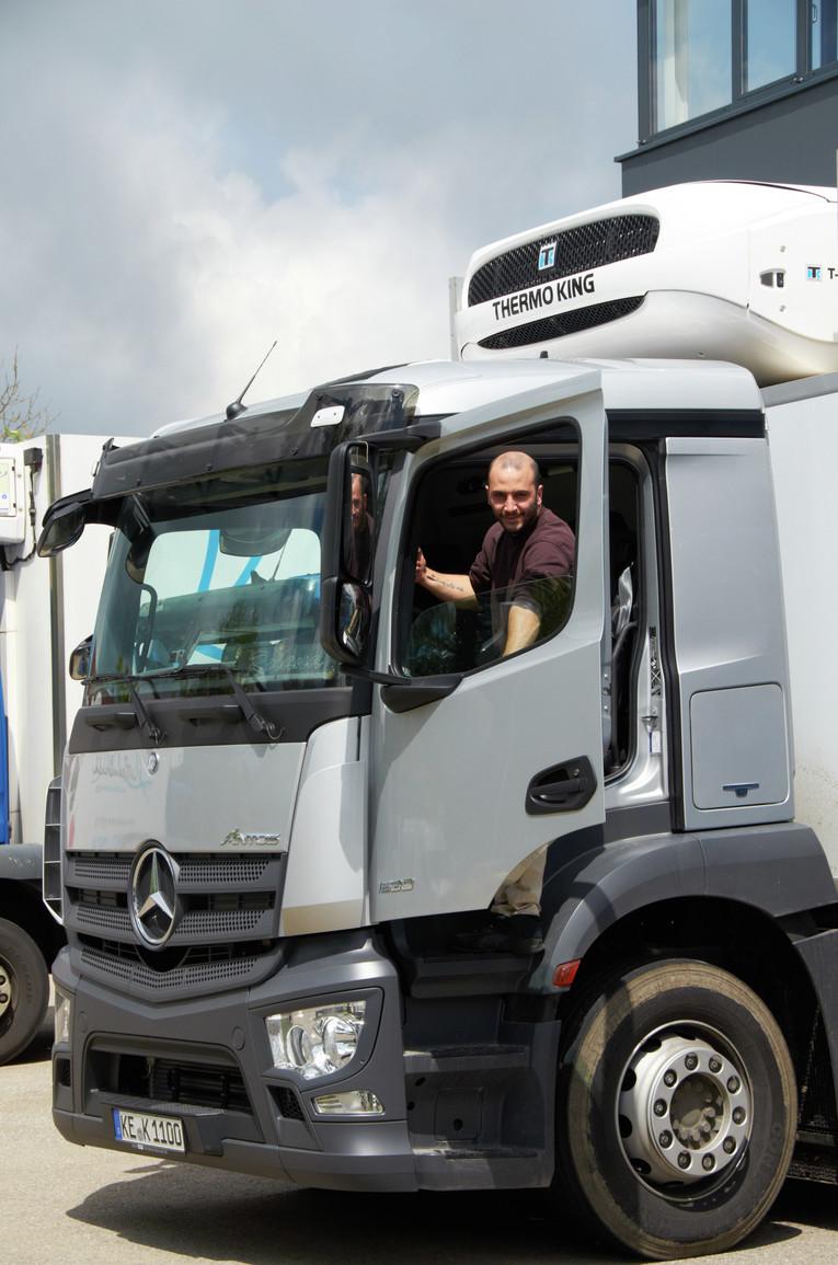 LKW Fahrer (m/w) mit Führerschein Klasse C oder CE
