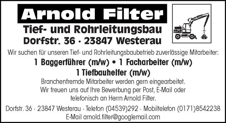 Baggerführer (m/w)